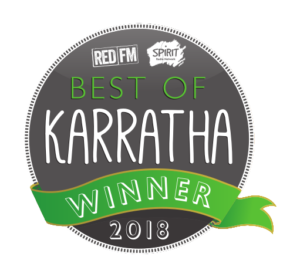 J009783 - Best of Karratha 2018_Sticker